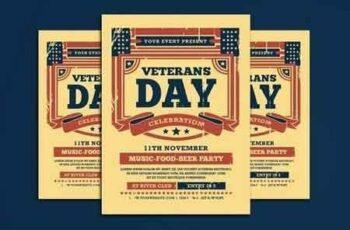 Veterans Day Flyer 3079461 7