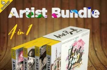 Artist 4 in 1 Bundle vol.4 22462841 7