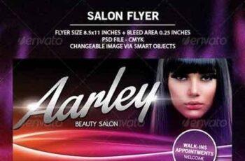 Salon Flyer + Business Card 6648679 6