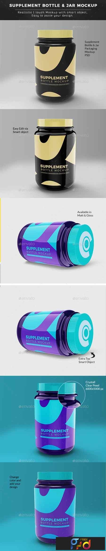 Supplement Bottle or Jar Mockup 22702581 1