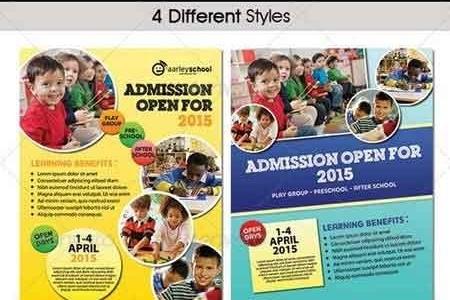 Junior School Flyer 6529200 - FreePSDvn