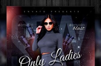 Ladies Night Flyer Template 22668761 9