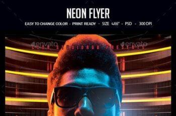 Neon Flyer 22668673 4