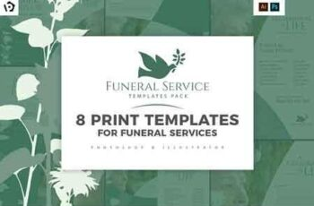 Funeral Service Templates Pack 3015790 4