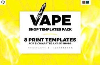 Vape Shop Templates Pack 3016031 2