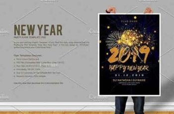 New Year Party Flyer 3071594 4