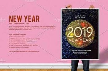 New Year Party Flyer 3076506 6