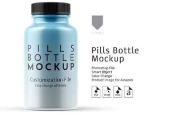 Pill Bottle Mockup 2964315 3