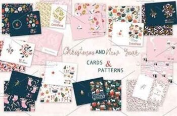 Christmas cards and patterns 3083944 7