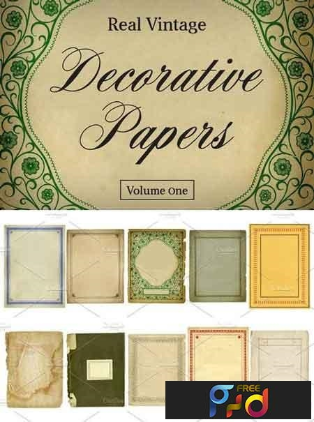 Real Vintage Decorative Papers Vol 1 4689 1