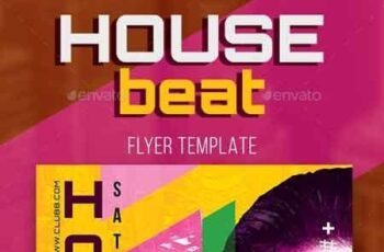 House Beat Flyer Template 22672291 7