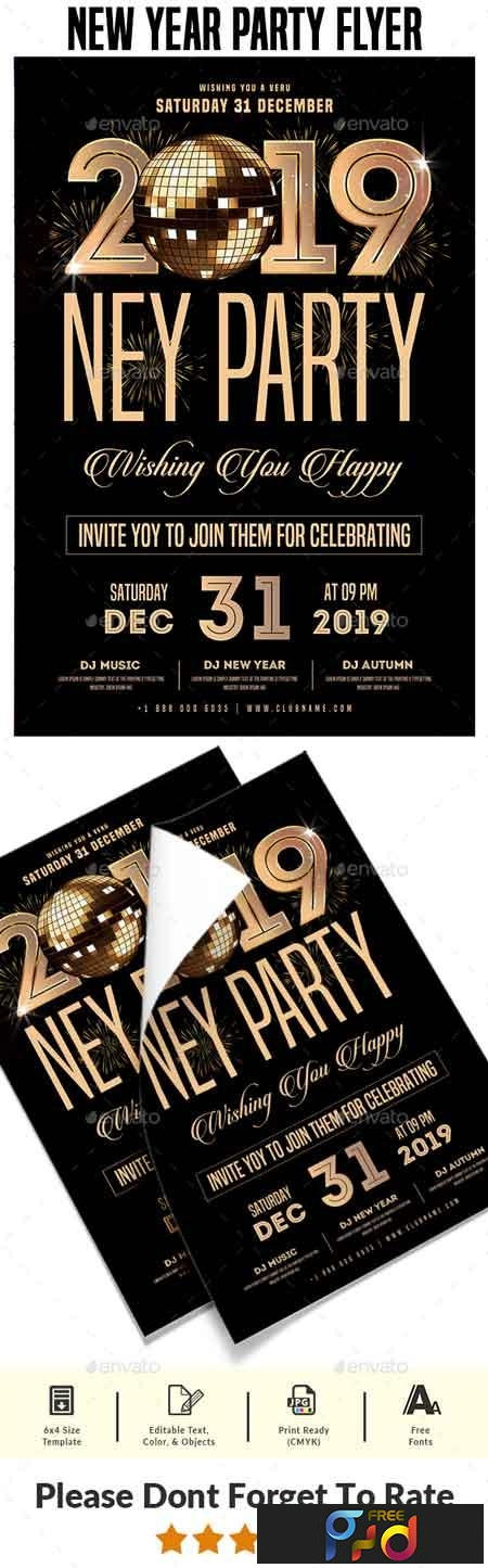 New Year Party Flyer 22710042 1