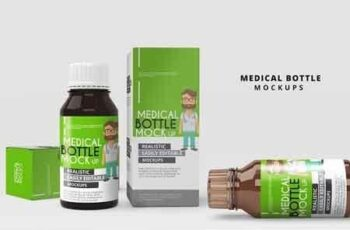 Medicine Bottle Mockup 2877153 6