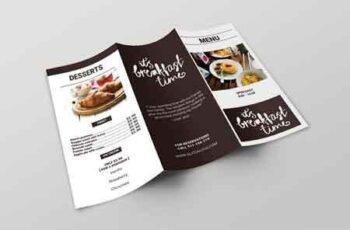 Brunch Cafe Trifold Menu Template 2962524 3