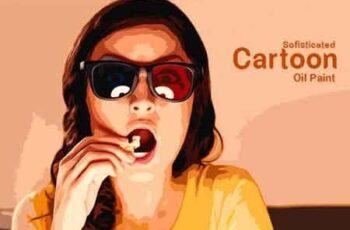 Sofisticated Cartoon Oil Paint 22664855 6