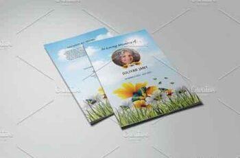 Funeral Program Template-V776 2205971 4