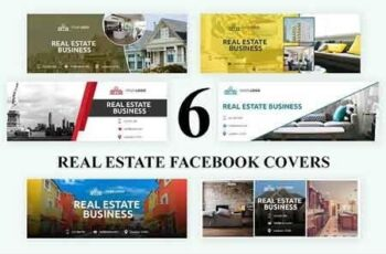 Real Estate Facebook Covers - SK 3032990 5
