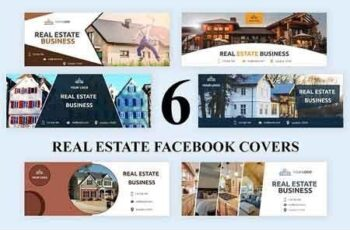 Real Estate Facebook Covers - SK 3033050 4