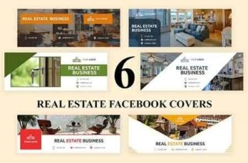 Real Estate Facebook Covers - SK 3035501 2