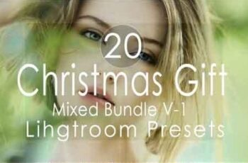 Christmas Gift Mixed v-1 Lightroom Presets 3502494 5