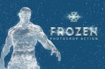 Frozen Ice Photo Effect 3119587 6