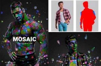 Mosaic Photoshop Action 22744500 4