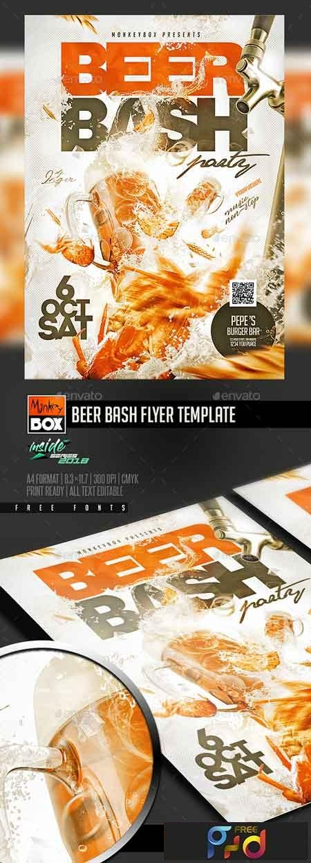 Beer Bash Flyer Template 22669078 1