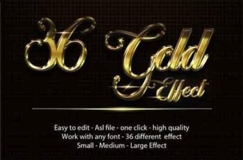 36 Gold Effect 22675226 6