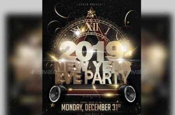 New Year Party Flyer 22734567 5