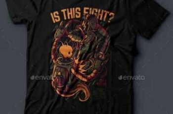 Is This Fight T-Shirt Design 21096485 5