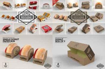 VOL.11 Food Box Packaging Mockups 2918568 4