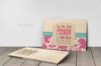 Wedding Invitation Post Card 6366282 3