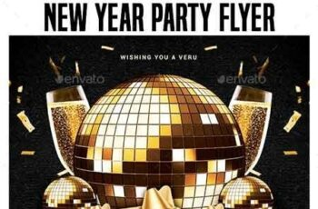 2019 New Year Party Flyer Templates 22717110 8