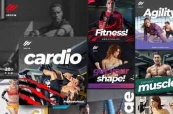 Fitness & Gym instagram pack 2.0 3501768 3