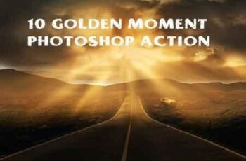 10 golden moments photoshop action 3503779 3