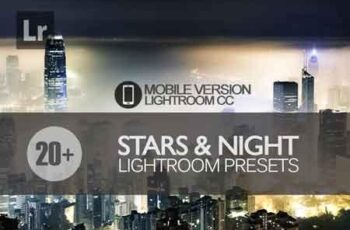 20+ Stars and Night Sky Lightroom Mobile bundle 3504072 4