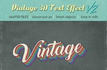 Vintage Text Effects V2 22692826 15