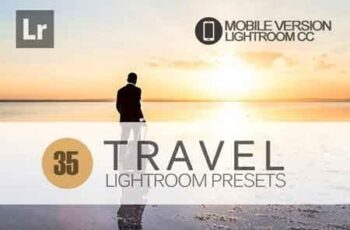 35 Travel Lightroom Mobile bundle 3504088 7