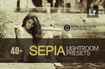 40+ Sepia Lightroom Mobile bundle 3504051 3