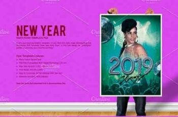 New Year Party Flyer 3088204 4