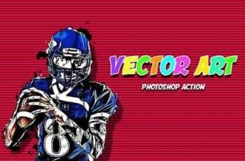 Vector Art Photoshop Action 3070947 4