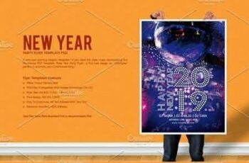 New Year Party Flyer 3088218 2