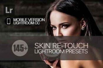 145+ Skin ReTouch Lightroom Mobile bundle 3504052 3