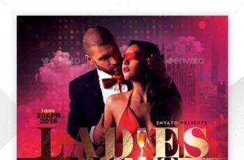 Ladies Night Flyer Template 22710041 5