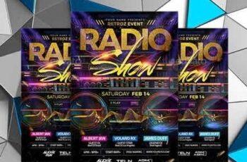 Radio Show Flyer 22687187 3