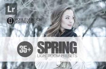 35+ Spring Lightroom Mobile bundle 3504071 3