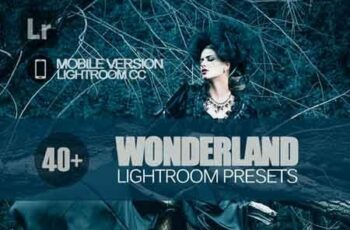 40+ Wonderland Lightroom Mobile bundle 3504100 6