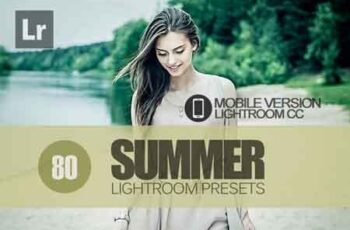 80 Summer Lightroom Mobile bundle 3504075 2
