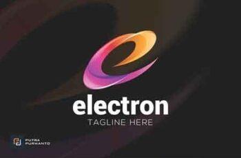 Electron Letter E - Logo Template 3095347 8