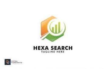 Hexa Search - Logo Template 3095314 3